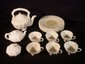 15 pc. Belleek Shell form partial luncheon service, 8