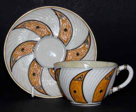 Low Celtic Cup and Saucer