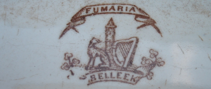 Belleek First Period Fumaria Pattern Mark