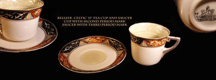 Celtic D pattern. v.rare & Belleek United Kingdom Collectors Group