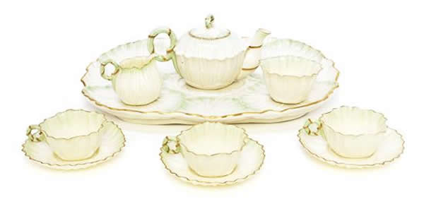 Low Lily Tray Set