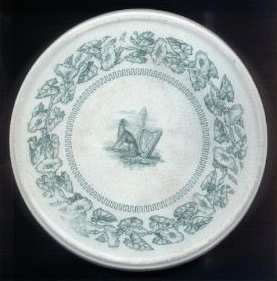 Early Trivet with circular Belleek Enniskillen marking