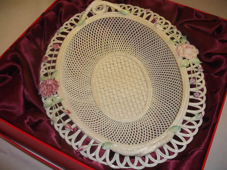 Finely Woven Donegal Basket