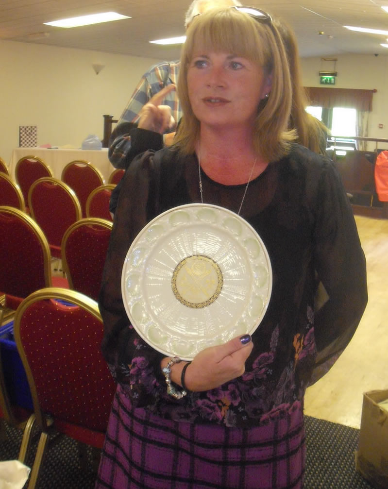 One Off Shell Commemorative Plate