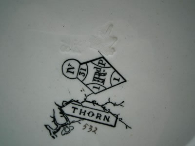 Thorn pattern marking